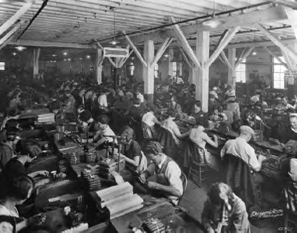 Media Speedway: How the Assembly Line Produced Mass Media | Mass ...